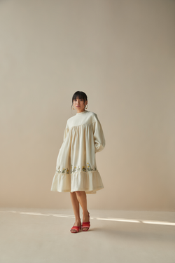 The Dreamy handwoven wool dress