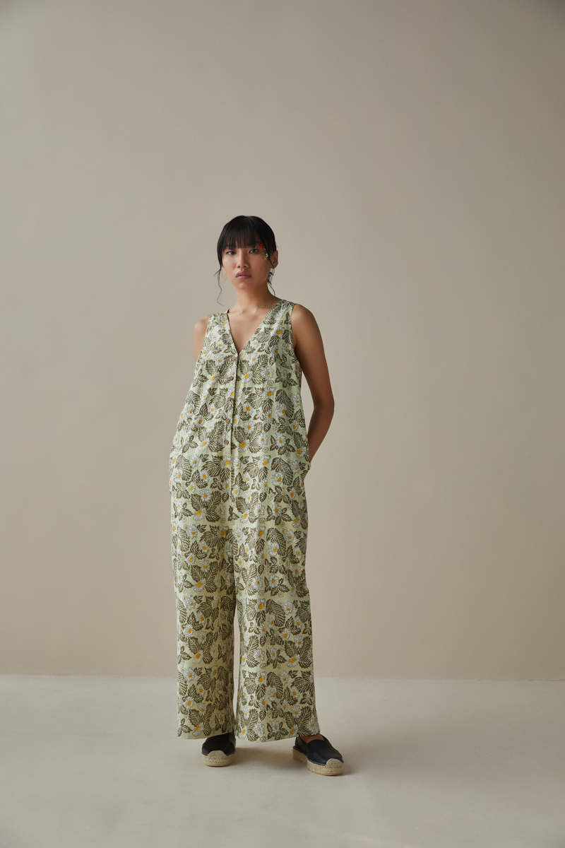 The Meadow hemp jumpsuit