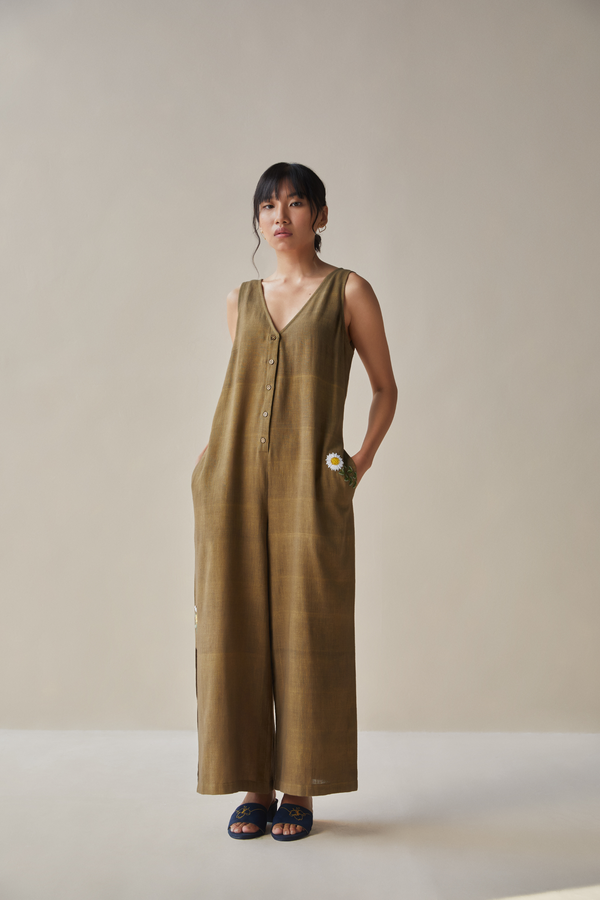 The Soul handwoven organic cotton jumpsuit