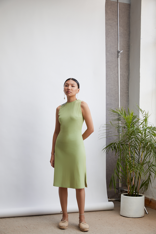 The Vine organic cotton knit dress