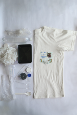 Be Turtlely Awesome, Save the Ocean organic cotton t-shirt - Sui X ReefWatch
