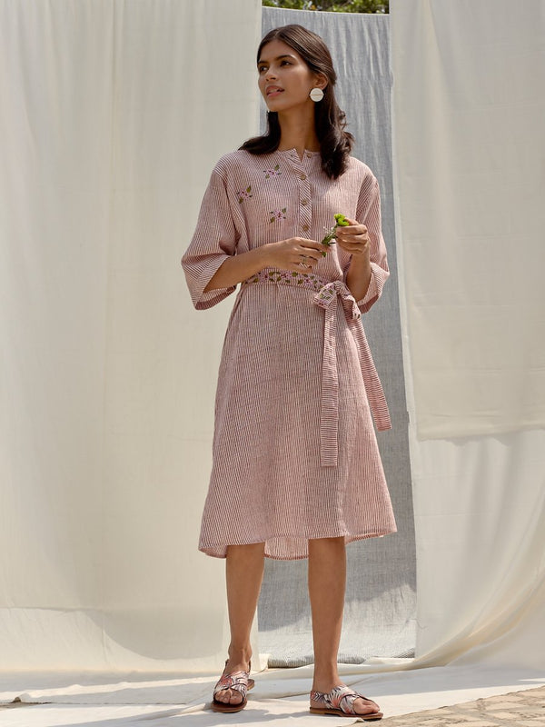Weave a Flower organic cotton khadi dress