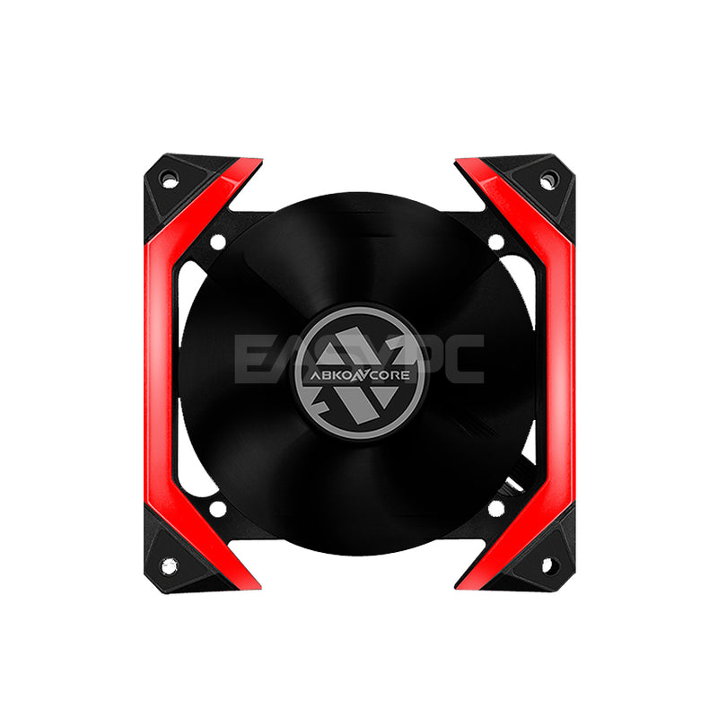 Abko Spider 120mm Chasis Fan Red