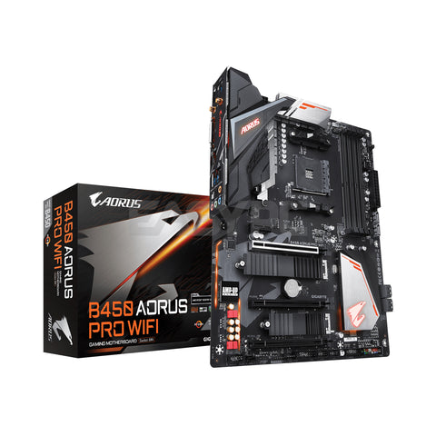Gigabyte GA-B450 Pro Wifi Motherboard Socket Am4 Ddr4