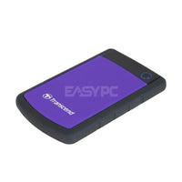 Transcend Storejet Slim Portable 2tb 2.5 Usb3.0 External Hard Drive Purple