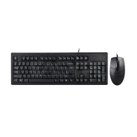 A4Tech KRS-8572 Ps2 Keyboard and Mouse Black