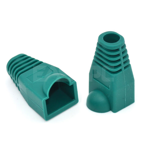 Rj45 Rubber Boots Green