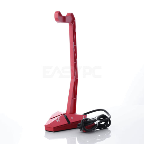 Rakk Switch V2 with Headset Stand Red