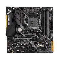 ASUS TUF B450M-PLUS GAMING AM4 AMD B450 SATA 6Gb/s Micro ATX AMD Motherboard