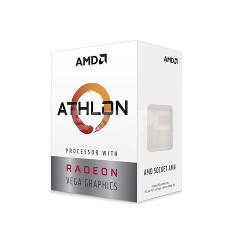 Amd Athlon 200GE Vega3 Processor Socket Am4 3.2ghz
