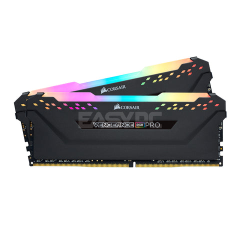 Corsair Vengeance Pro Memory 2x8gb Ddr4 3000mhz Black RGB