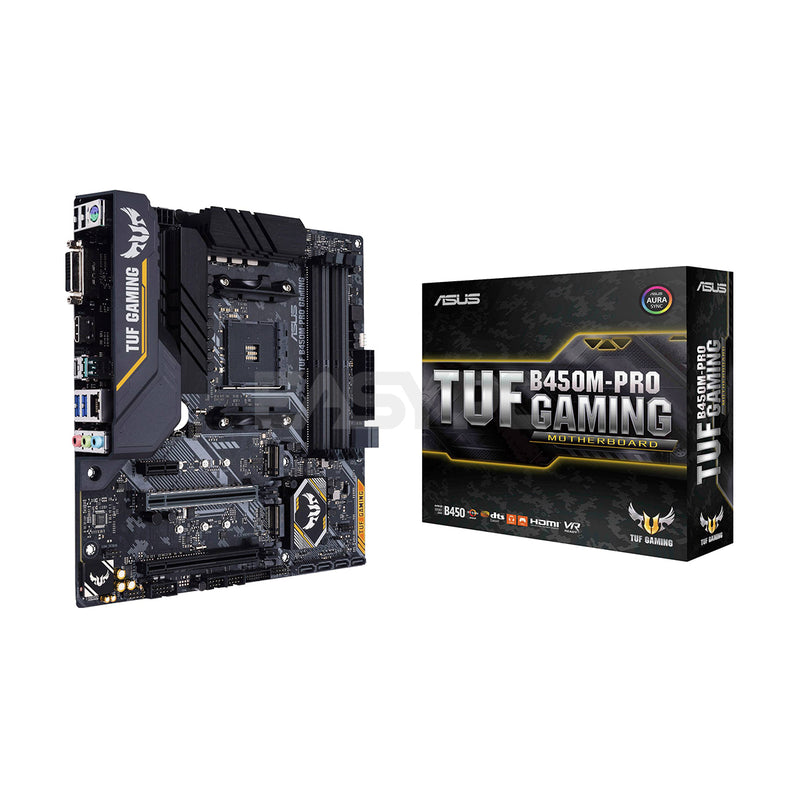 Asus TUF B450M Pro Gaming Socket Am4 Ddr4 Motherboard