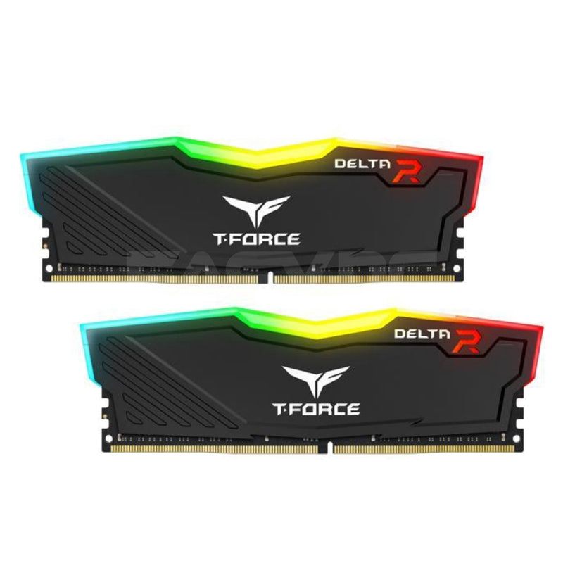 Team Elite TForce Delta 2x8 Memory 3200mhz Ddr4 RGB Black