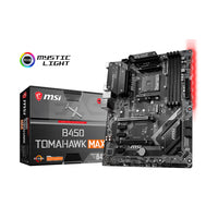 MSI B450 Tomahawk Max Motherboard Socket Am4 Ddr4