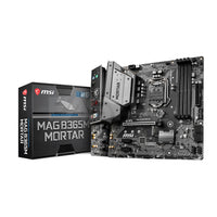 MSI B365M MAG Mortar Motherboard Socket 1151 Ddr4