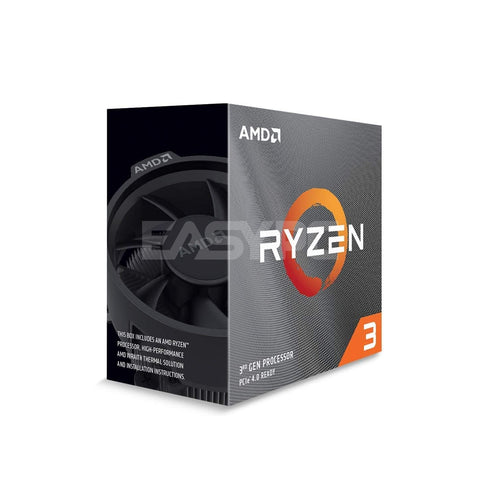 AMD Ryzen 3 3100 Socket Am4 3.6Ghz with Wraith Stealth Cooler Processor