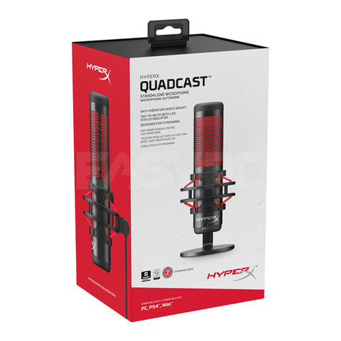 HyperX QuadCast Gaming Microphone