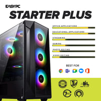 RAKK GALURA ATX Gaming Case White with aRGB Fans
