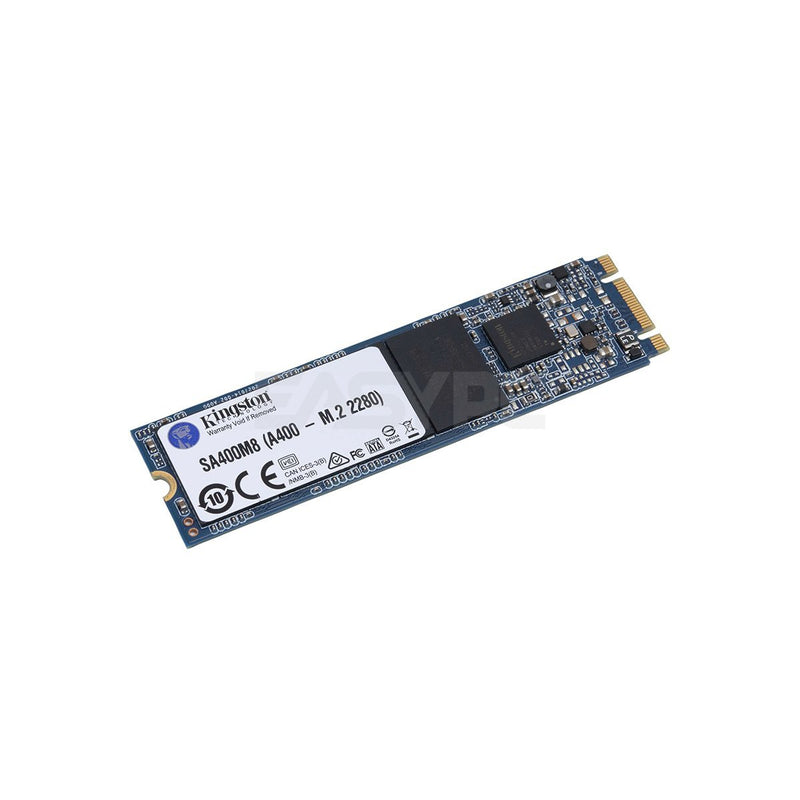 "Kingston  SSDNow A400  120GB Sata3 M.2  2.5"" and M.2 Form Factors, Fast start-up, loading and file transfers, More reliable and durable than a hard drive, Multiple capacities with space for applications or a hard drive replacement  Solid State Drive"