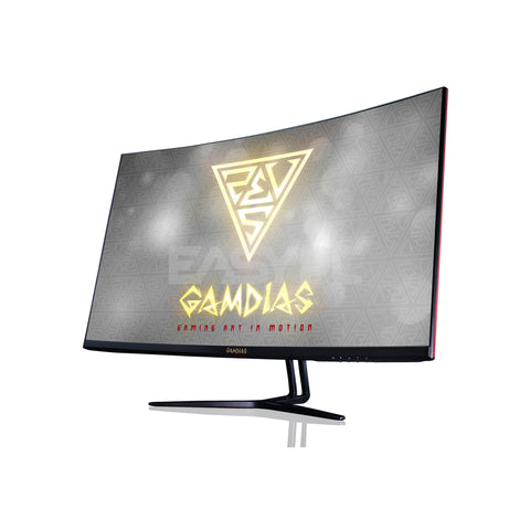 "Gamdias Atlas DHD323C 32"" Curved 144hz Gaming Monitor"