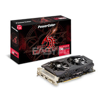 PowerColor Red Dragon RX580 Dual Fan 8gb 256bit GDdr5 Gaming Videocard