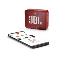JBL GO 2 Portable Bluetooth Waterproof Speaker Red