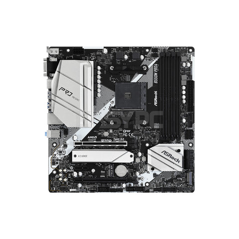 Asrock B550M Pro4 Socket Am4 Ddr4 Motherboard
