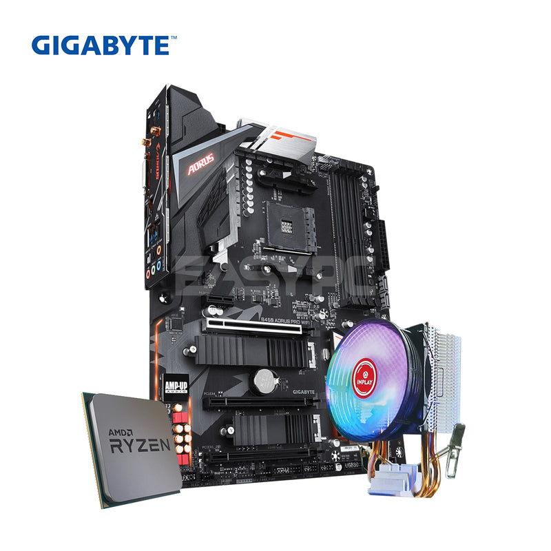 AMD Ryzen 5 3600/Gigabyte GA-B450 Pro WiFi/Gaming Bundle