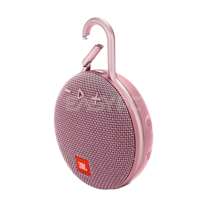JBL Clip 3 Portable Bluetooth Speaker Pink HASP748 1ION