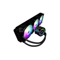 DarkFlash DX 360 RGB AIO CPU Liquid Cooler Black