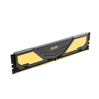 Team Elite Plus 4gb 1x4 2666mhz Ddr4 Memory Black/Gold