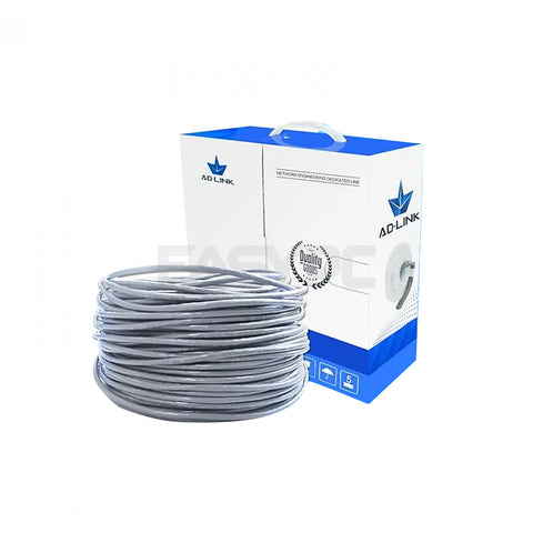 Adlink Cat5 100m Utp Cable Gray