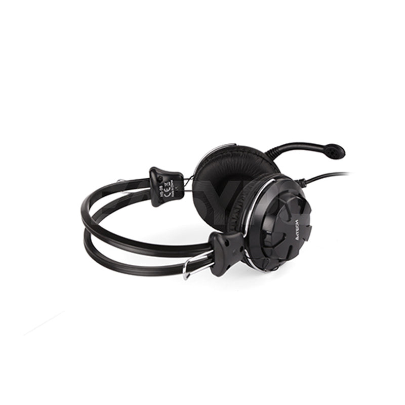 A4Tech HS-28 ComfortFit Stereo Headset Black