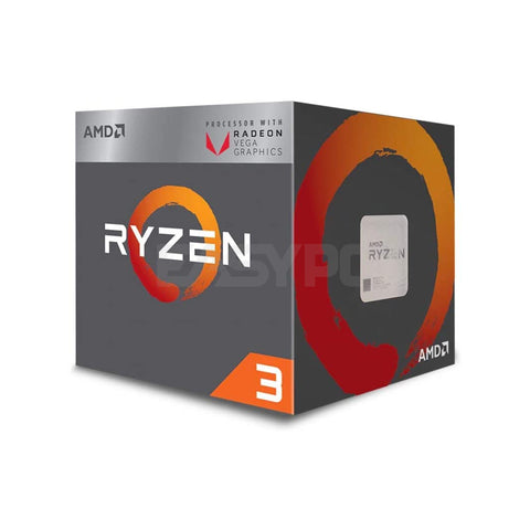 Amd Ryzen 3 2200g Processor Socket Am4 3.5ghz with Radeon Vega 8