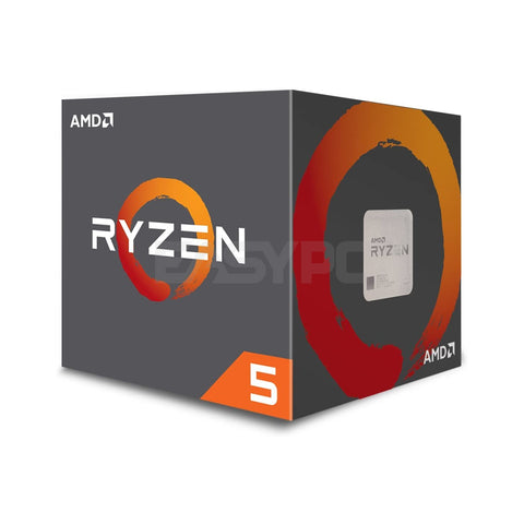 Amd Ryzen 5 2600 Processor Socket Am4 3.4ghz with Wraith Stealth Cooler