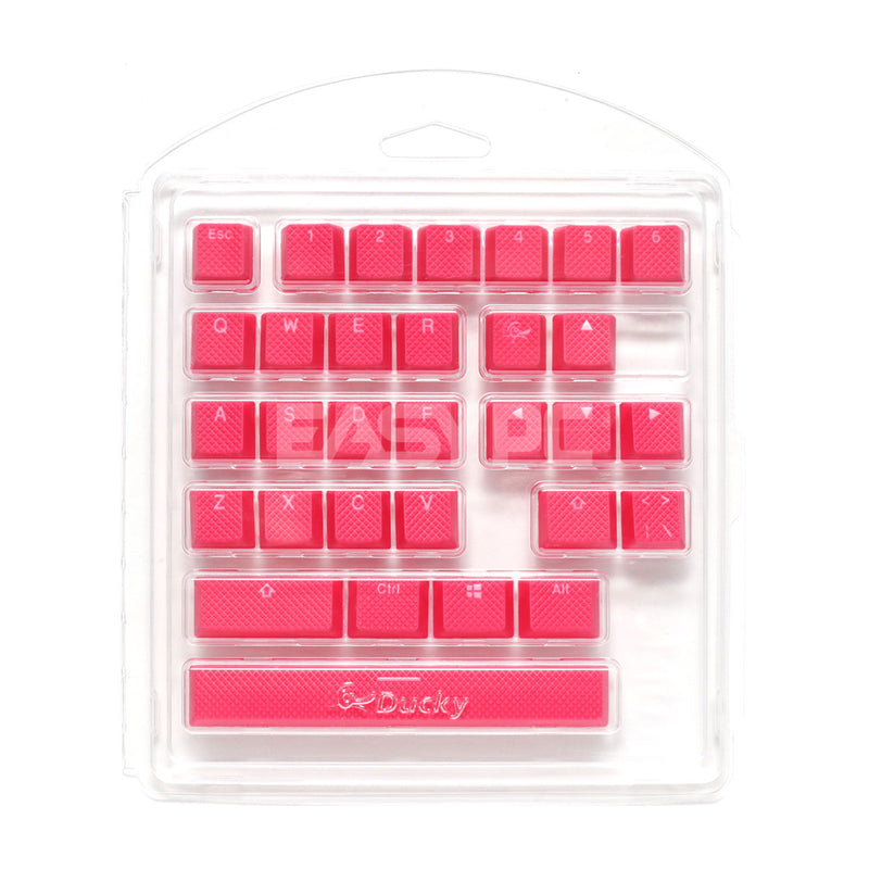 Ducky DKSA31-USRDRNNO1 Rubber keycap Seamless Double Shot Red DUDK1034 4JTP