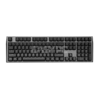 Ducky Shine 7 DKSH1808ST-BUSPDAHT1 Gunmetal RGB Backlight Mechanical Keyboard MX Brown DUDK942 4JTP