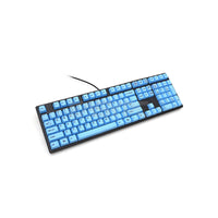 Ducky One DKON1508F-CUSPHBAB1 Blue PBT Cherry MX Blue Mechanical Keyboard Black Case DUDK960 4JTP