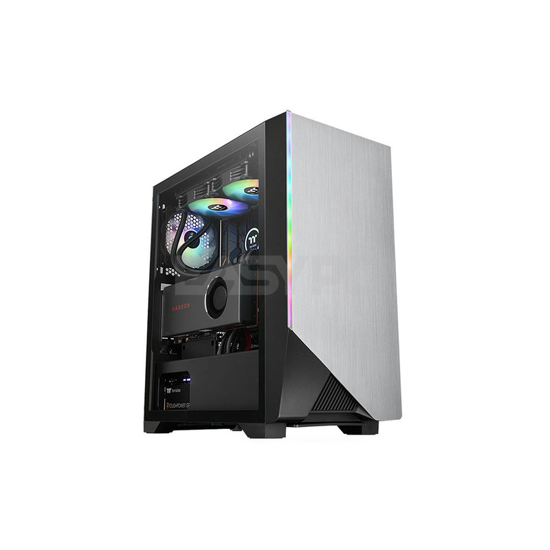 Thermaltake H550 TG CA-1P4-00M1WN-00 Mid Tower PC Case with ARGB Fan THCA1377 1ION