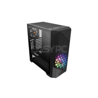 Thermaltake Commander G33 TG ARGB CA-1P3-00M1WN-00 Mid Tower PC Case with ARGB Fan THCA1380 1ION