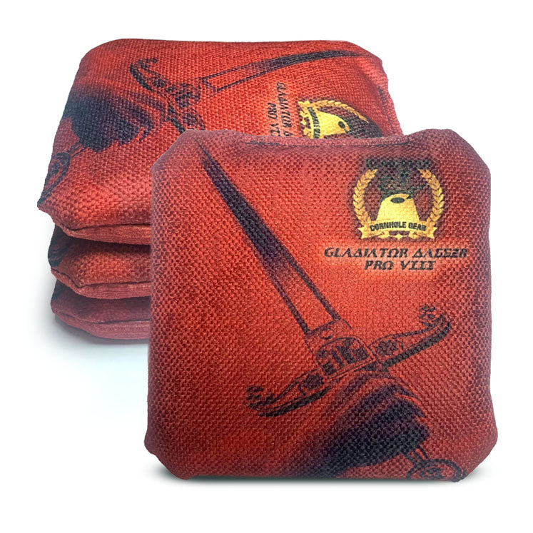 ACL Approved-Cornhole Bags-Gladiator-Dagger-Brown