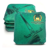 ACL Approved-Cornhole Bags-Gladiator-Dagger-Green