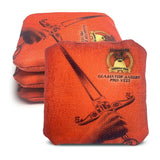 ACL Approved-Cornhole Bags-Gladiator-Dagger-Orange