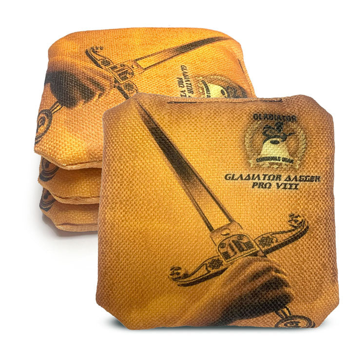 ACL Approved-Cornhole Bags-Gladiator-Dagger-Black