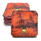 ACL Approved-Cornhole Bags-Gladiator-Empire-Orange