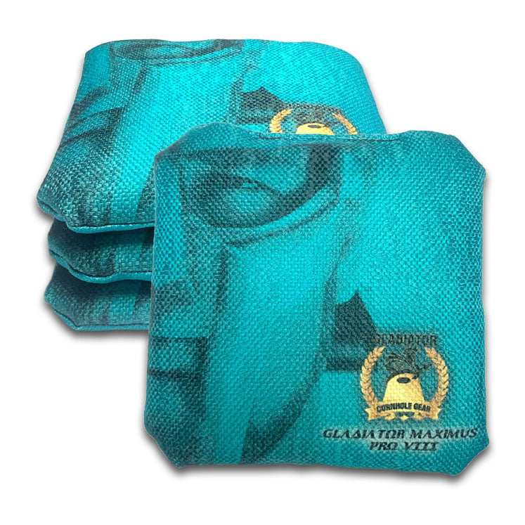 ACL Approved-Cornhole Bags-Gladiator-Maximus-Blue