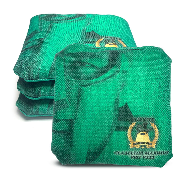 ACL Approved-Cornhole Bags-Gladiator-Maximus-Green