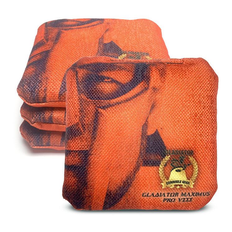 ACL Approved-Cornhole Bags-Gladiator-Maximus-Orange