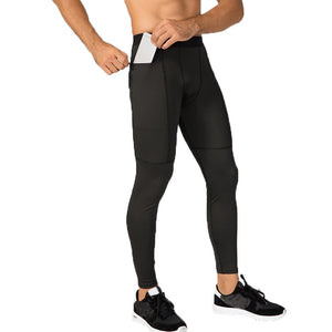 Men'S Pure Color Middle-Waist Elastic Casual Pants