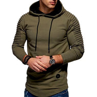 Fashion Light Knitted New Style Patchwork Hoodie